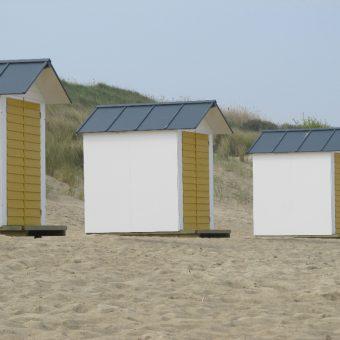 Cadzand Beach cabins