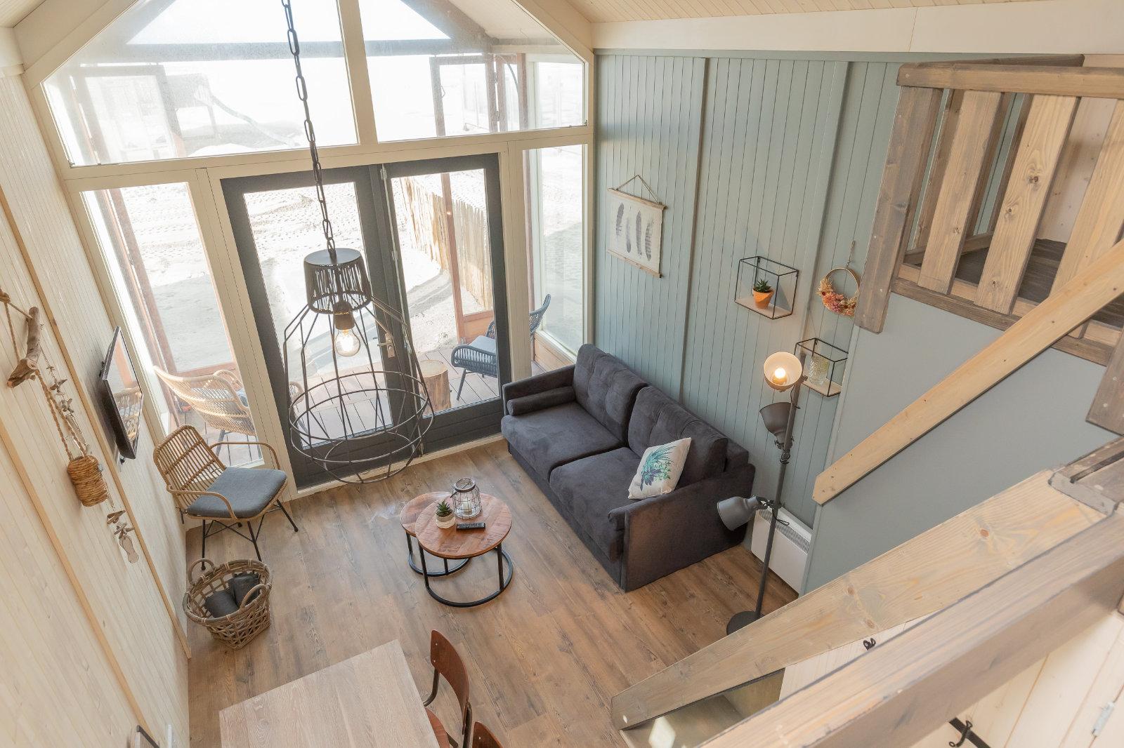 MK4 tiny house - living room