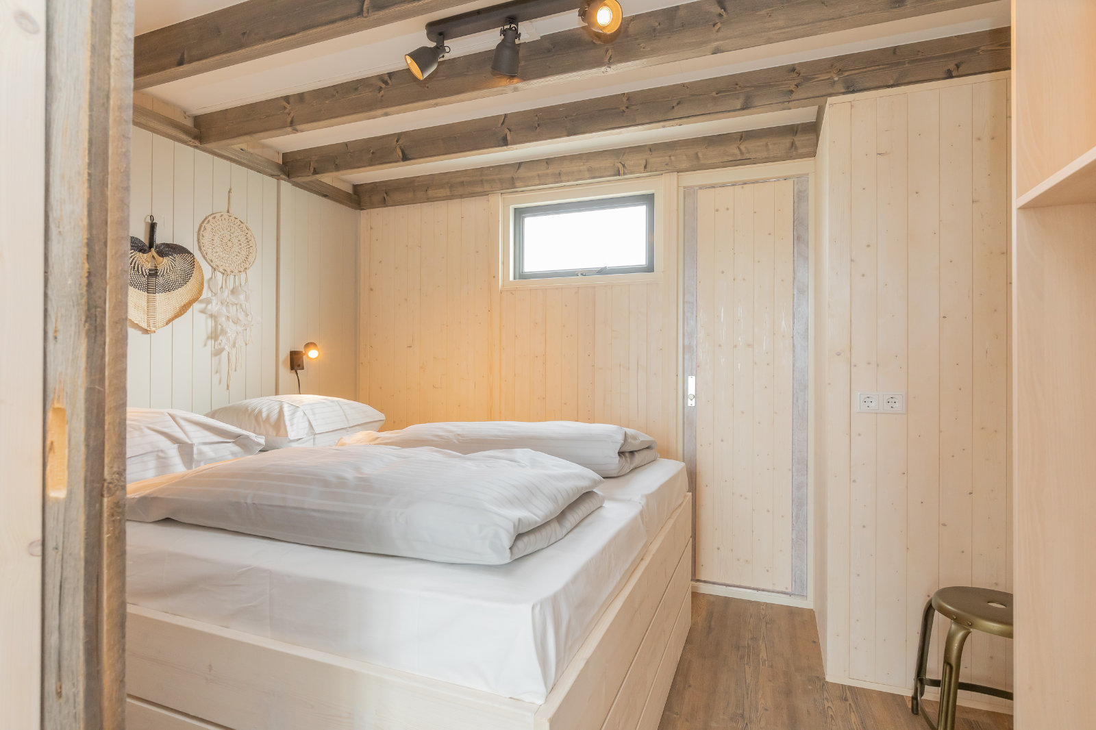 MK4 tiny house - main bedroom