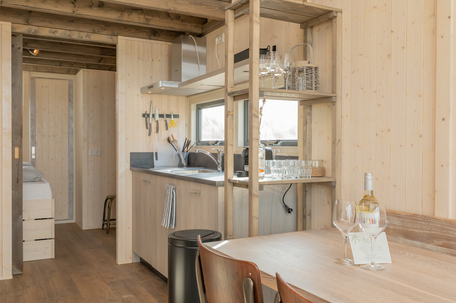 MK4 tiny house - kitchen